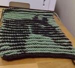 Horse Illusion Knit